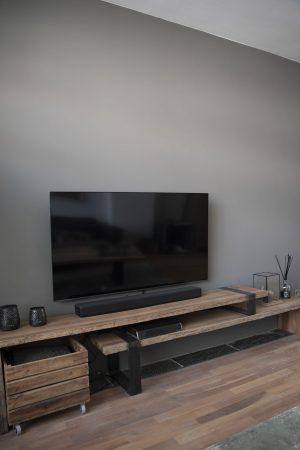 Massief Houten Tv Meubel.Modern Massief Houten Tv Meubel