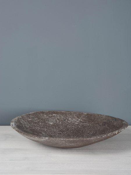 Handgemaakte aardewerk schaal